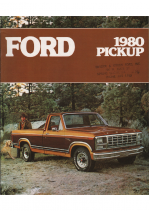 1980 Ford Pickups