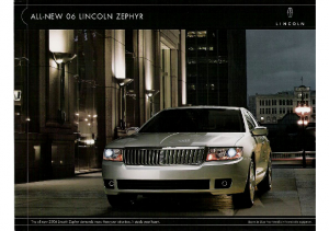 2006 Lincoln Zephyr