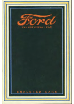 1915 Ford Enclosed Cars