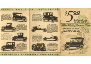 1923 Ford Purchase Plan
