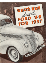 1937 Ford New Features