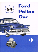 1954 Ford Police