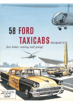 1958 Ford Taxi Cab
