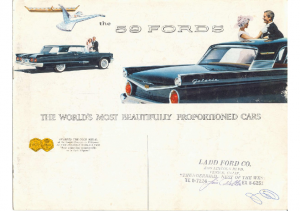 1959 Fords