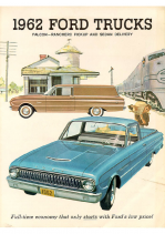 1962 Ford Trucks Falcon-Ranchero