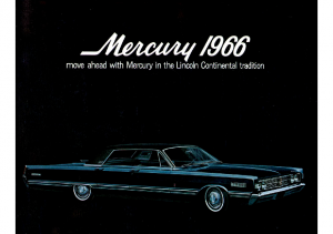 1966 Mercury Full Line