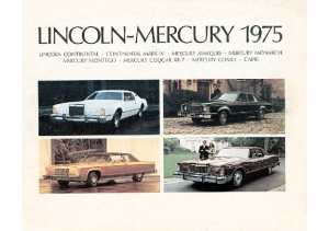 1975 Lincoln Mercury