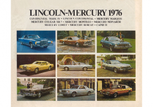 1976 Lincoln-Mercury Full Line