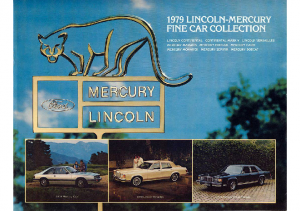 1979 Lincoln-Mercury Full Line