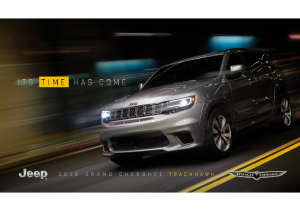 2018 Jeep Grand Cherokee Trackhawk Reveal