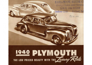 1940 Plymouth