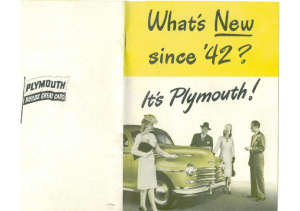 1946 Plymouth Whats New