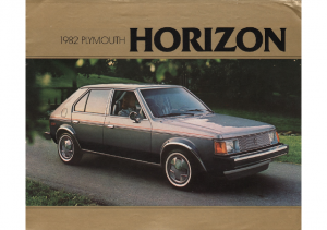 1982 Plymouth Horizon