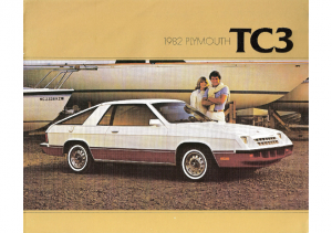 1982 Plymouth TC3