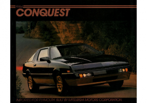 1984 Plymouth Conquest