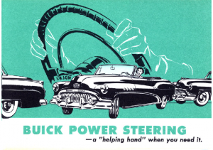 1952 Buick Power Steering