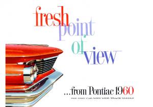 1960 Pontiac Full Line Regular