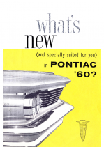 1960 Pontiac Whats New