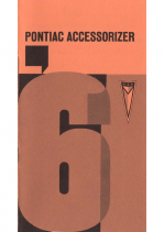1961 Pontiac Accessorizer Catalog