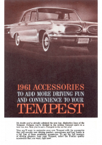 1961 Pontiac Tempest Accessories