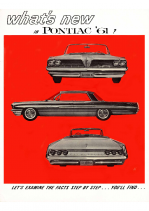 1961 Pontiac Whats New