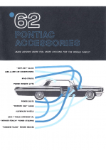 1962 Pontiac Accessories Catalog