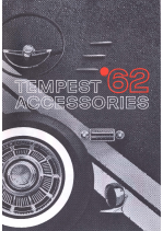 1962 Pontiac Tempest Accessories Catalog