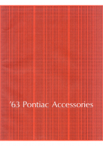 1963 Pontiac Accessories Catalog
