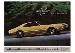 1966 Oldsmobile Sports Models