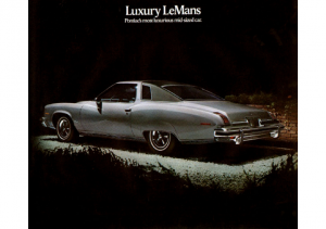 1974 Pontiac Luxury LeMans
