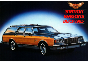1985 Buick Station Wagons