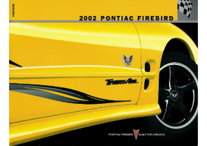 2002 Pontiac Firebird Trans Am Full