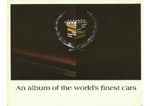 1968 Cadillac Worlds Finest Cars
