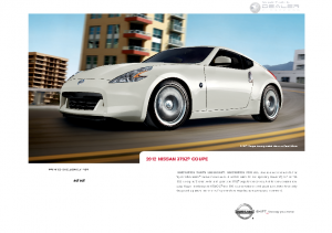 2012 Nissan Z Coupe