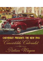 1940 Chevrolet Convertible-Station Wagon