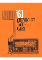 1961 Chevrolet Taxi Cabs