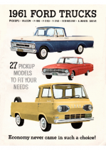 1961 Ford Small Trucks