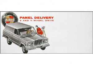1963 Jeep Panel Delivery Folder