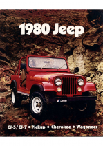 1980 Jeep Full Line