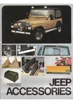 1982 Jeep Accessories Catalog