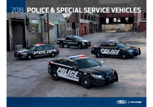 2018 Ford Police