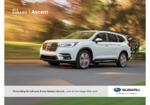 2019 Subaru Ascent V1