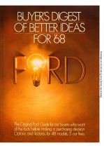 1968 Ford Better Ideas Insert