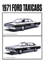 1971 Ford Taxicabs