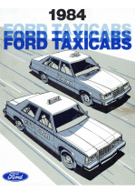 1984 Ford Taxi Cabs