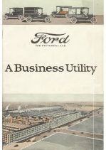 1921 Ford Business Utility