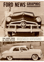 1949 Ford News Graphic Foldout