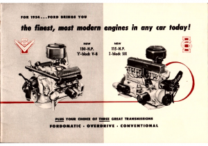 1954 Ford Engines