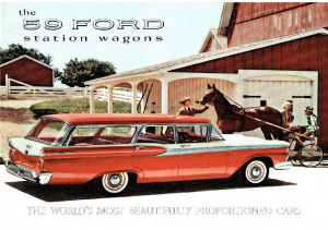 Dezo's Garage|1950-1959 Ford Car PDF Sales Brochure/Catalog/Flyer