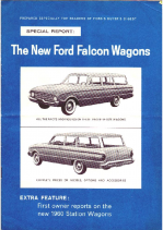 1960 Ford Falcon Wagons